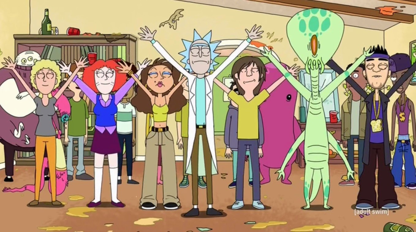 Rick morty s01e11