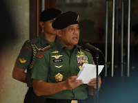 Sindir Kapolri? Ini Puisi Panglima TNI Gatot Nurmantyo di Rapimnas Golkar