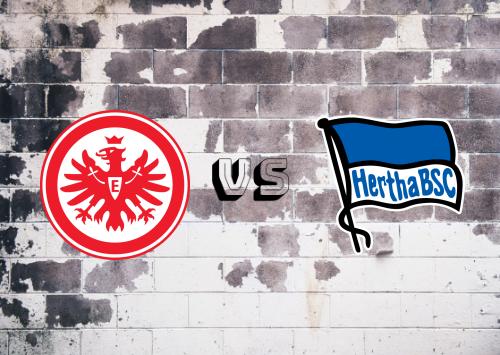 Eintracht Frankfurt vs Hertha BSC  Resumen