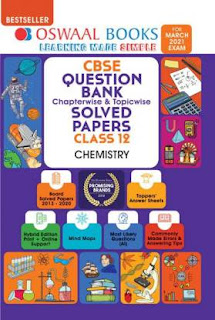 OSWAAL CHEMISTRY SAMPLE PAPER CLASS 12