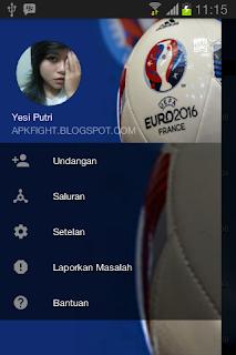 BBM Mod Tema Euro 2016 v2.13.1.14 Apk Terbaru