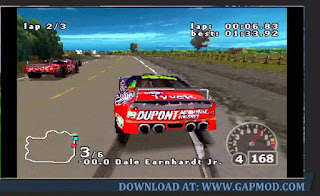Gameplay-Nascar-Rumble-PPSSPP