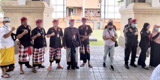 Datangi Polda, Pecalang Bali Desak Lanjutkan Penanganan Kasus Munarman FPI