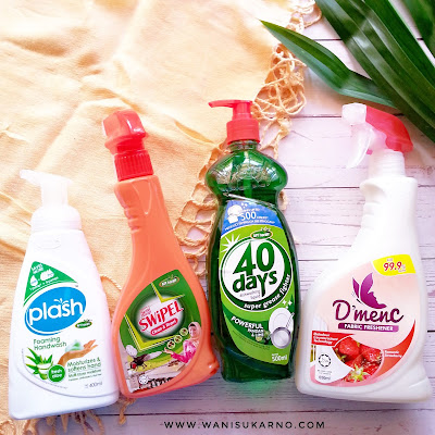 4 produk pilihan dari afy haniff serai wangi