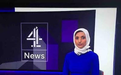 Reporter Inggris Ini Komitmen Berhijab Walau Dicela Penonton
