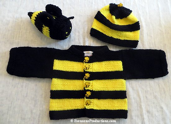 Image result for baby bee hat