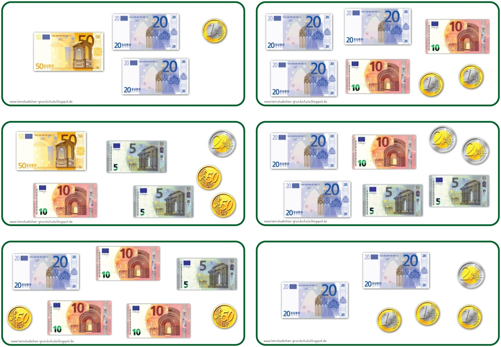 Lernstubchen Geld Zr 100 5 Station
