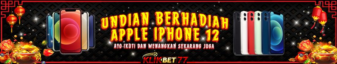 POIN BERHADIAH APPLE IPHONE 12