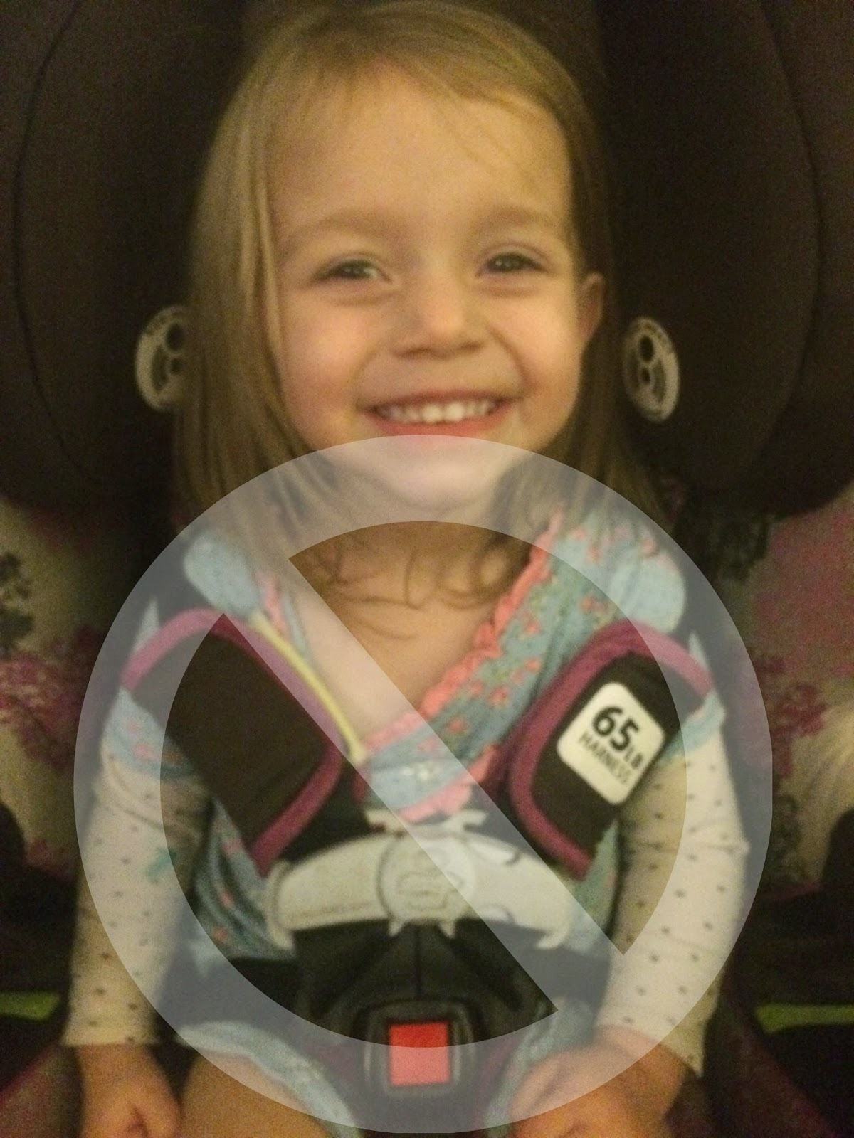 Car Seats And Winter Coat Safety Coat in Their Car Seat