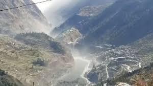 Glacier Bursts in Uttarakhand Flash Flood situation