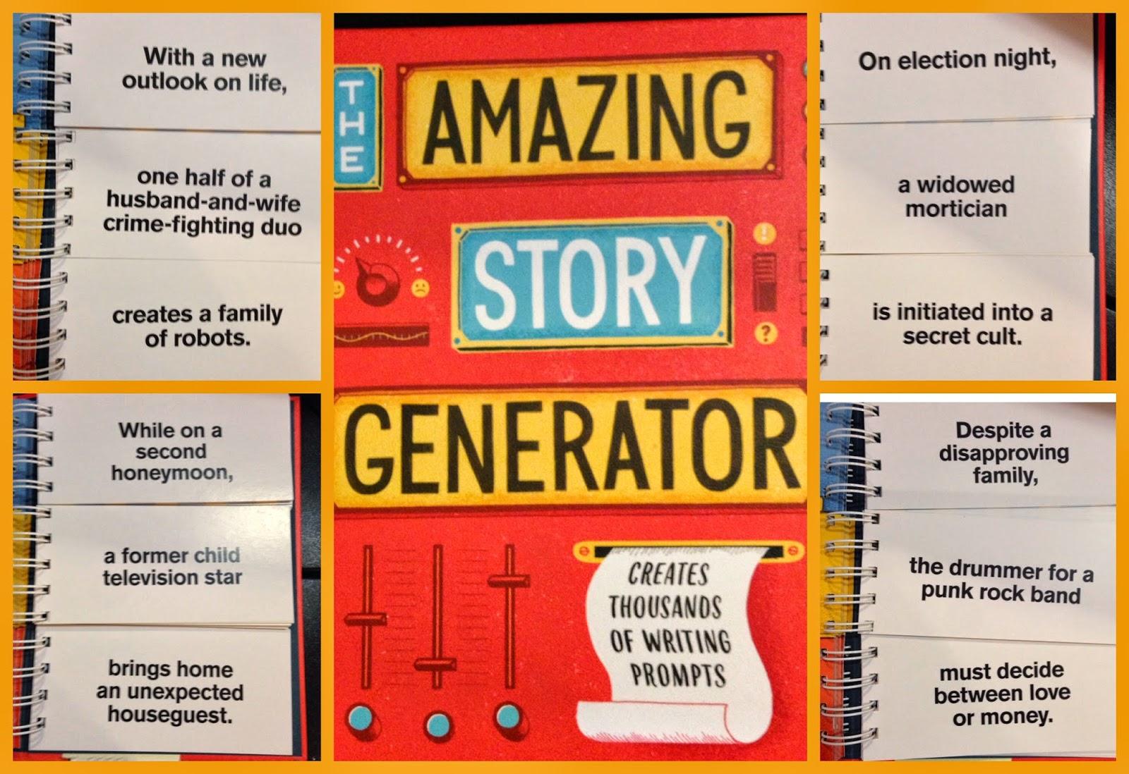 The Amazing Story Generator, by Jason Sacher