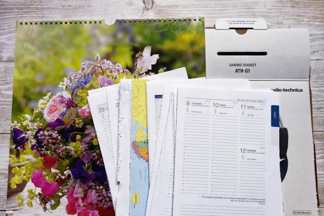 Kalendarzowy recykling - część 1