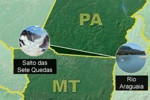 Mato Grosso e Pará travam uma luta judicial para demarcação de um Novo limite territorial entre os dois estados.