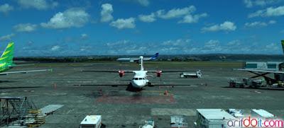 Pesawat Baling-baling Denpasar-Malang