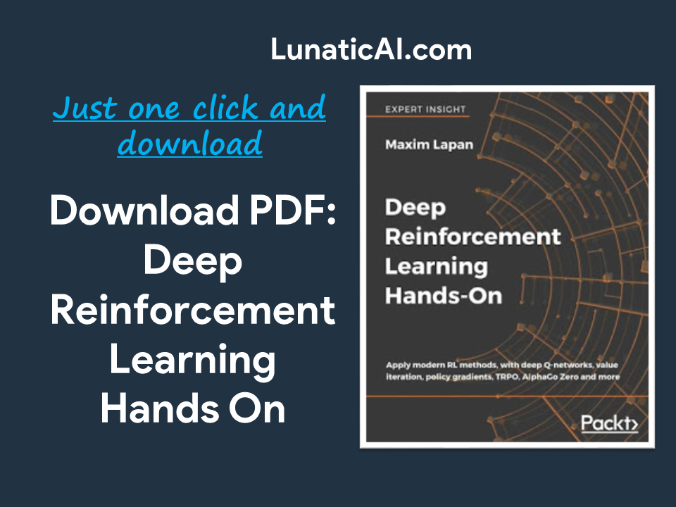 Deep Reinforcement Learning Hands-On PDF Github