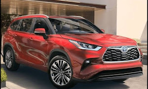 2021 Toyota Highlander Interior & Exterior Dimensions