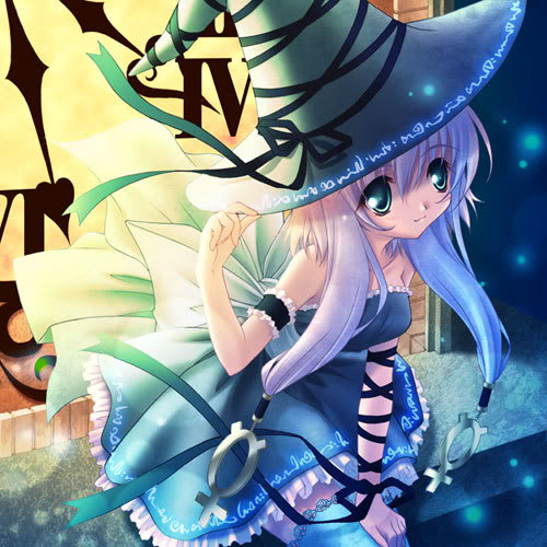 Manga Wallpaper: Anime Halloween Witch