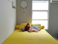 Dekorasi Kamar Tidur Cantik Minimalis Elegan