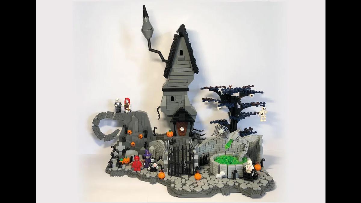 レゴアイデアで『ナイトメアー・ビフォア・クリスマス:ハロウィン・タウン』が製品化レビュー進出!2021年第1回1万サポート獲得デザイン紹介