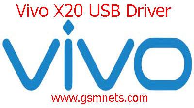 Vivo X20 USB Driver Download