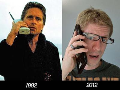 20 Jahre Handy Entwicklung lustig witzige Vergleiche