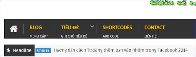 Chuyển Menu từ Widget Linklist sang Menu HTML tĩnh 7