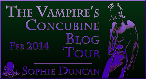 The Vampire's Concubine Blog Tour 10th - 15th Feb 2014