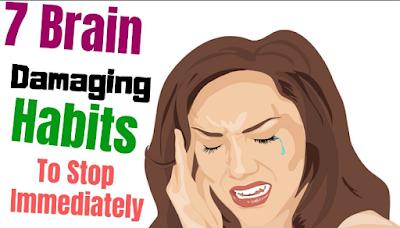 5 Dangerous Brain Damaging Habits To Stop Immediately