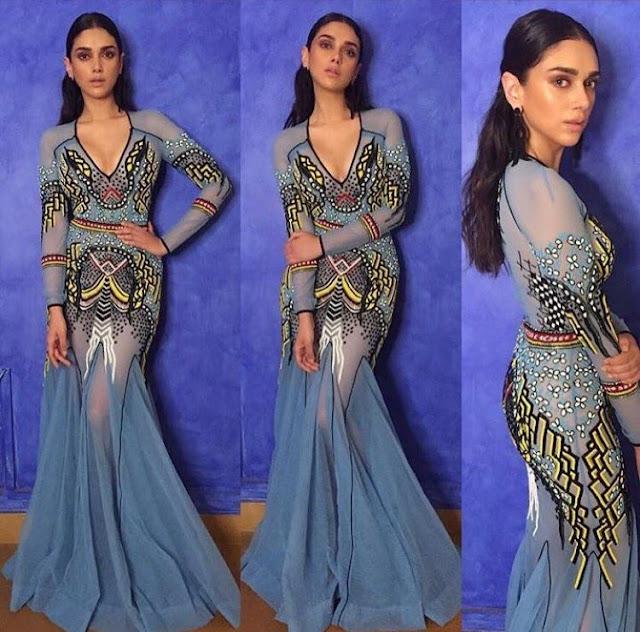 Aditi Rao Hydari at Vogue Beauty Awards 2017