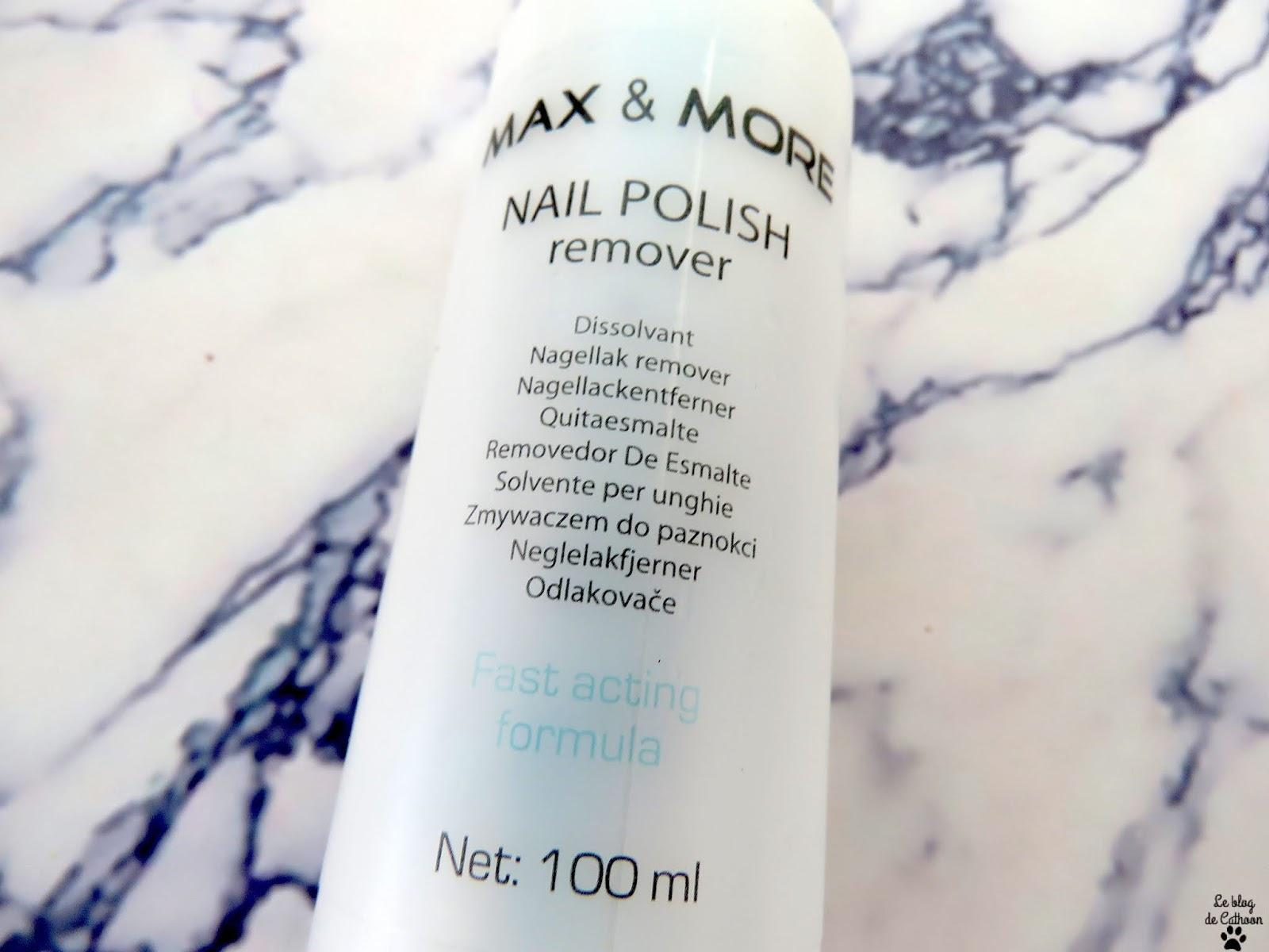 Nail Polish Remover - Dissolvant - Max & More