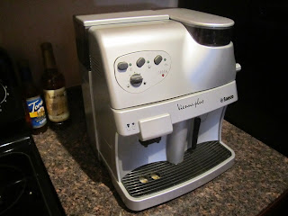 The Saeco Vienna Plus espresso machine