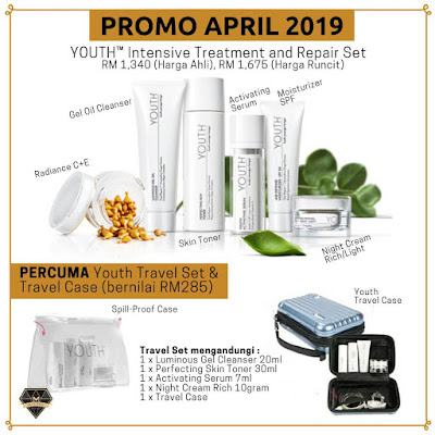 PROMO SKINCARE YOUTH GEGARKAN APRIL 2019 ANDA!