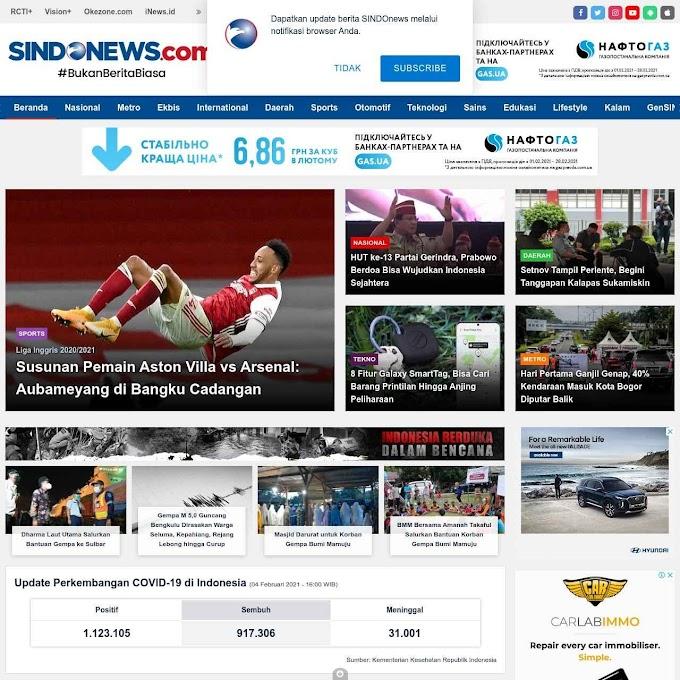 Sindonews.com, Bukan Website Berita Biasa