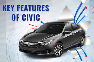 The Key Features of 2016 Honda Civic