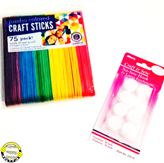 Craft Sticks, Velcro