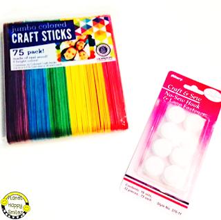 Craft Sticks, Velcro