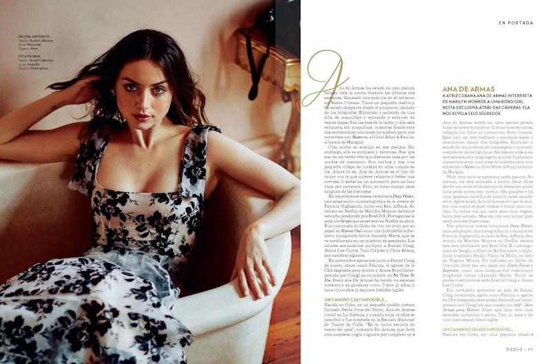 Ana de Armas Clicked in Nexos Magazine - April/May 2020