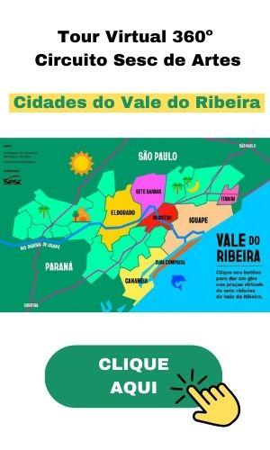 Tour Virtual 360º das cidades do Vale do Ribeira