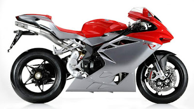 MV Agusta F4 RR white & red sport bike