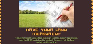 क्या आपकी जमीन मापी गई है?