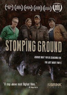"DVD cover for ""Stomping Ground"" (2014)"
