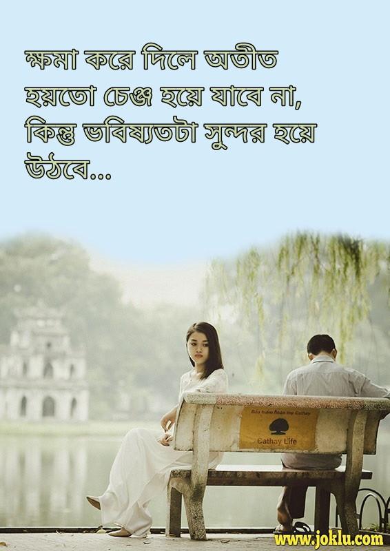 Beautiful future sorry message in Bengali