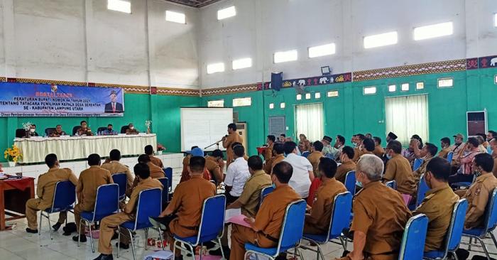 143 Desa di Lampura Akan Melaksanakan Pilkades Secara Serentak