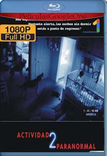 Actividad Paranormal 2 [2010] [1080p BRrip] [Latino-Inglés] [GoogleDrive]