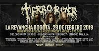 Concierto de TERRORIZER en Bogotá 2019