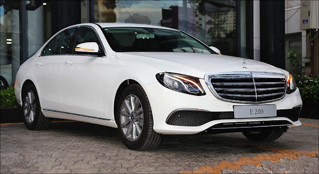 Mercedes E200 2019 được thiết kế theo phong cách lịch lãm, sang trọng