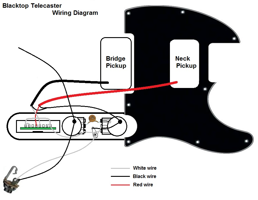 Wiring Diagram For Fender Noiseless Pickups: Fender
