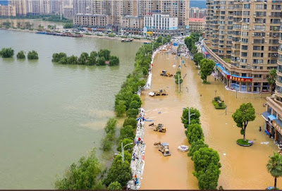 Flood in China Amid Coronavirus ; Three Crore People are in Mortal Danger, 141 are Missing