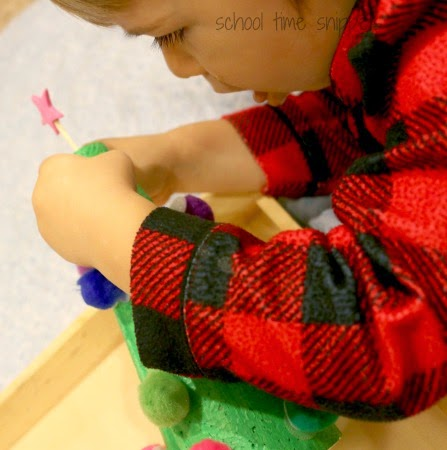 Toddler Fine Motor Skills Christmas Tree