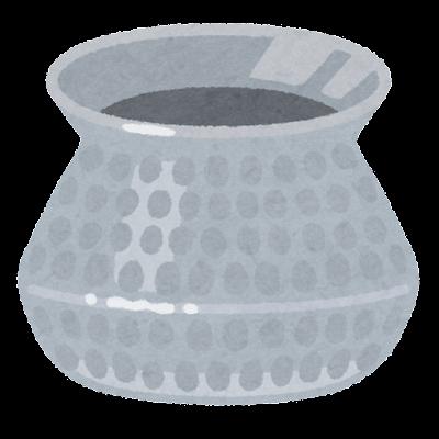 ビリヤニ鍋のイラスト